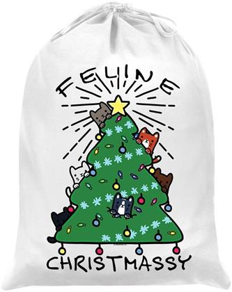 Feline Christmassy - Santa Sack