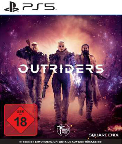 Outriders (German Edition)