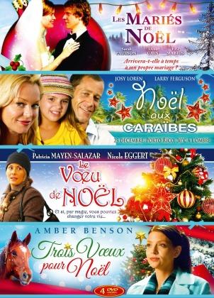 Les mariés de Noël / Noël aux Caraïbes / Le voeu de Noël / Trois voeux pour Noël (4 DVD)