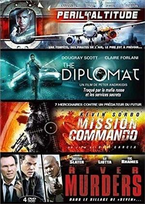 Péril en attitude / The Diplomat / Mission Commando / River Murders (4 DVD)