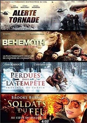 Alerte Tornade / Behemoth - Le monstre des abîmes / Perdues dans la tempête / Soldats du feu (4 DVD)