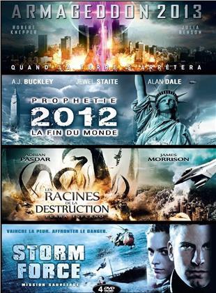 Armageddon 2013 / Prophétie 2012 / Les racines de la destruction / Storm Force (4 DVD)