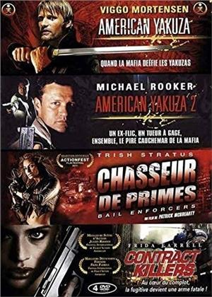 American Yakuza / American Yakuza 2 / Chasseur de primes / Contract Killers (4 DVD)