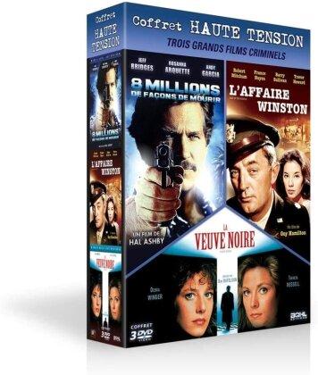 8 millions de façons de mourir / L'affaire Winston / La veuve noire (3 DVD)