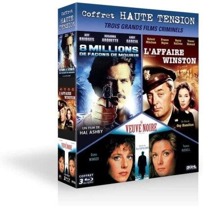8 millions de façons de mourir / L'affaire Winston / La veuve noire (3 Blu-ray)