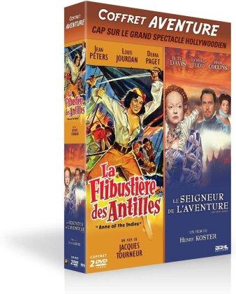La Flibustière des Antilles / Le seigneur de l'aventure (2 DVD)