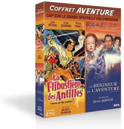 La Flibustière des Antilles / Le seigneur de l'aventure (2 Blu-ray)