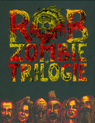 Rob Zombie Trilogie - La maison des 1000 morts / The Devil's Rejects / 3 From Hell (Schuber, Digipack, 3 Blu-rays + DVD)