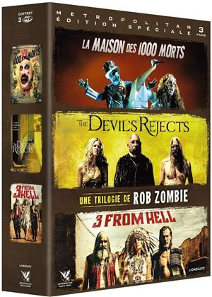 Rob Zombie Trilogie - La maison des 1000 morts / The Devil's Rejects / 3 From Hell (3 DVD)