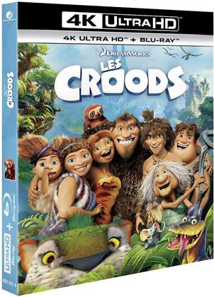 Les Croods (2013) (4K Ultra HD + Blu-ray)