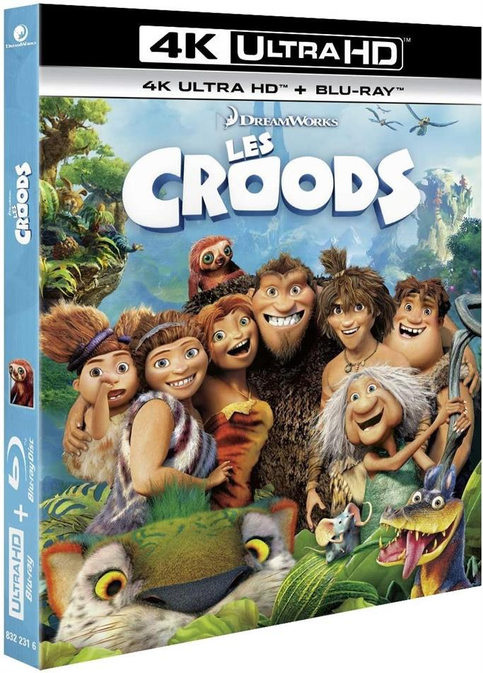 Les Croods (2013) (4K Ultra HD + Blu-ray)