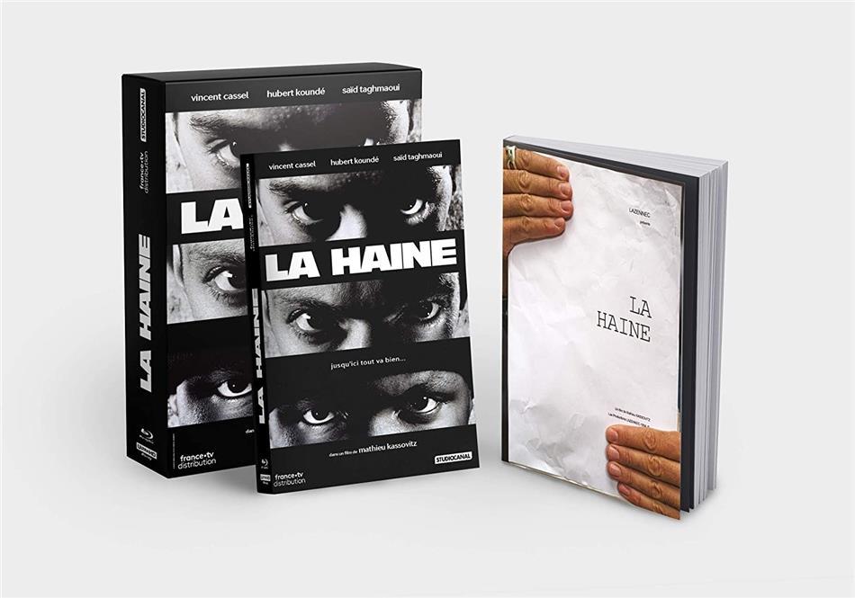 La Haine (1995) (Collector's Edition, 4K Ultra HD + Blu-ray + Buch)