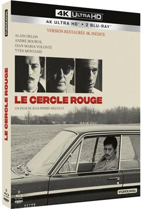 Le cercle rouge (1970) (4K Ultra HD + 2 Blu-ray)