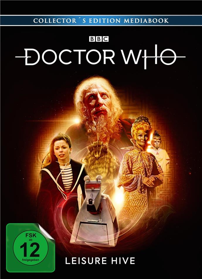 Doctor Who - Vierter Doktor - Leisure Hive (Limited Collector's Edition, Mediabook, 3 Blu-rays)