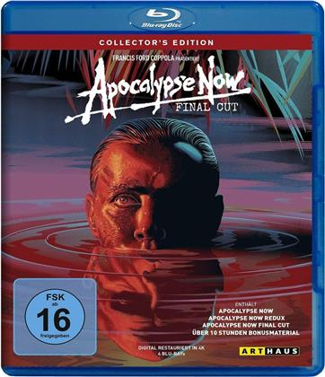 Apocalypse Now (1979) (Final Cut, Arthaus, Collector's Edition, 4 Blu-rays)