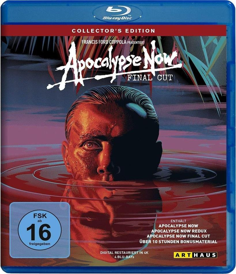 Apocalypse Now (1979) (Final Cut, Collector's Edition, 4 Blu-ray)