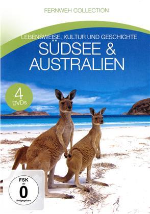 BR-Fernweh - Südsee & Australien (4 DVDs)