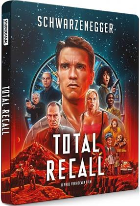 Total Recall (1990) (Edizione Limitata, Steelbook, 4K Ultra HD + 2 Blu-ray)