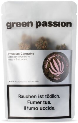 Green Passion Green Berry Indoor (10g) - (CBD 18% THC 1%)