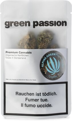 Green Passion Alpina Green Outdoor (17g) - (CBD 20% THC 1%)