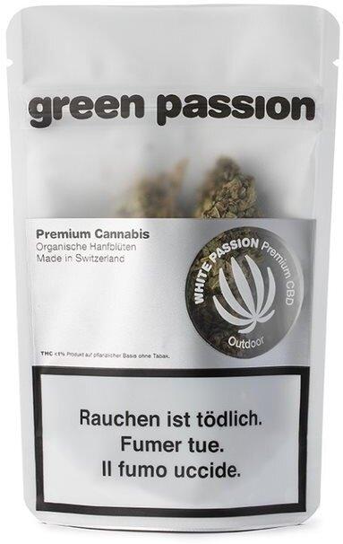 Green Passion White Passion Outdoor (5g) - (CBD 18% THC 1%)