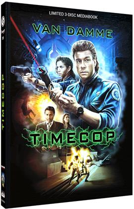 Timecop (1994) (Cover A, Limited Cinestrange Extreme Edition, Limited Edition, Mediabook, Blu-ray + 2 DVDs)
