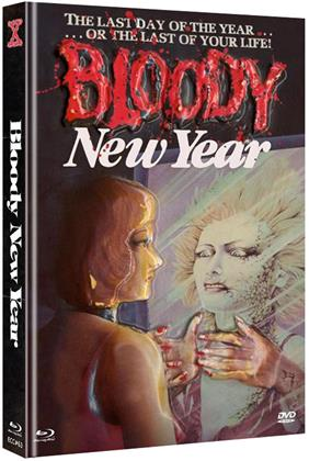 Blooddy New Year (1987) (Cover C, Eurocult Collection, Limited Edition, Mediabook, Blu-ray + DVD)