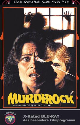 MurdeRock (1984) (Grosse Hartbox, Cover D, The X-Rated Italo-Giallo-Series, Limited Edition, Blu-ray + DVD)
