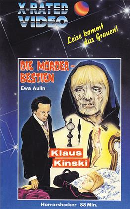 Die Mörderbestien (1973) (Grosse Hartbox, Cover VHS, Limited Edition)