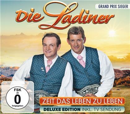 Die Ladiner - Zeit das Leben zu leben (Deluxe Edition, CD + DVD)