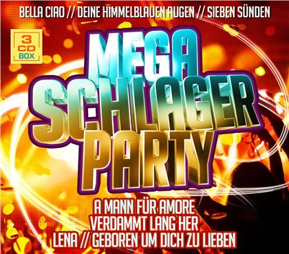 Mega Schlager Party - Various (3 CDs)