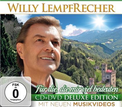 Willy Lempfrecher - Für die, die mir viel bedeuten (Deluxe Edition, CD + DVD)