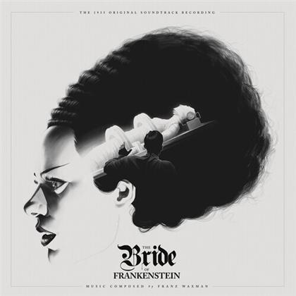 Franz Waxman (1906-1967) - The Bride Of Frankenstein - OST (2020 Reissue, Waxwork, White/Black Vinyl, LP)