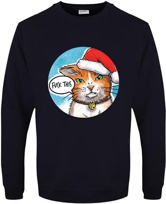 Cute But Really Abusive: Fuck This - Men's Christmas Jumper