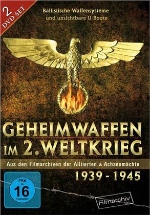 Geheimwaffen im 2. Weltkrieg - Aus den Filmarchiven der Alliierten & Achsenmächte 1939 - 1945 (2 DVD)