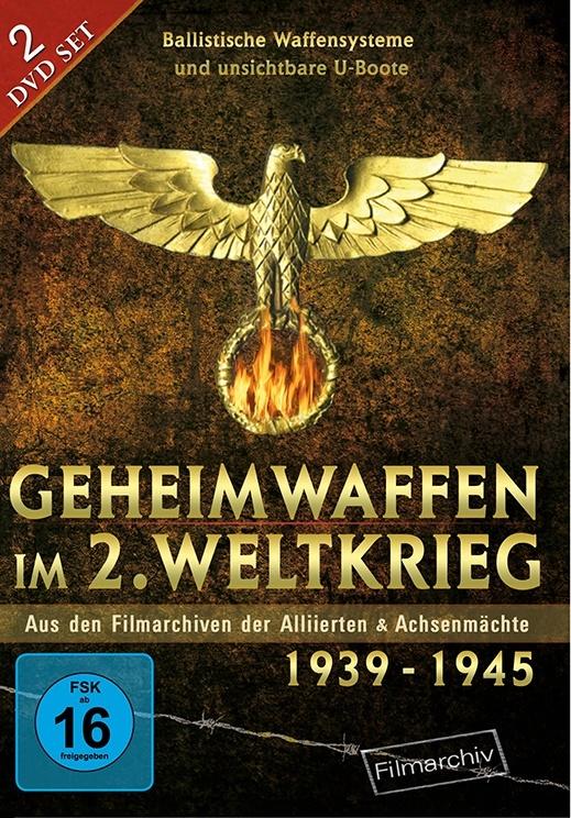 Geheimwaffen im 2. Weltkrieg - Aus den Filmarchiven der Alliierten & Achsenmächte 1939 - 1945 (2 DVDs)