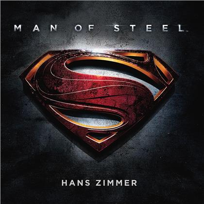 Hans Zimmer - Man Of Steel - OST (2020 Reissue, Music On Vinyl, at the movies, Limited Edition, Colored, 2 LPs)