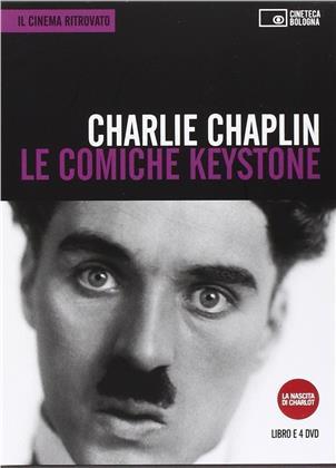 Charlie Chaplin - Le comiche Keystone (Il Cinema Ritrovato, s/w, 4 DVDs)