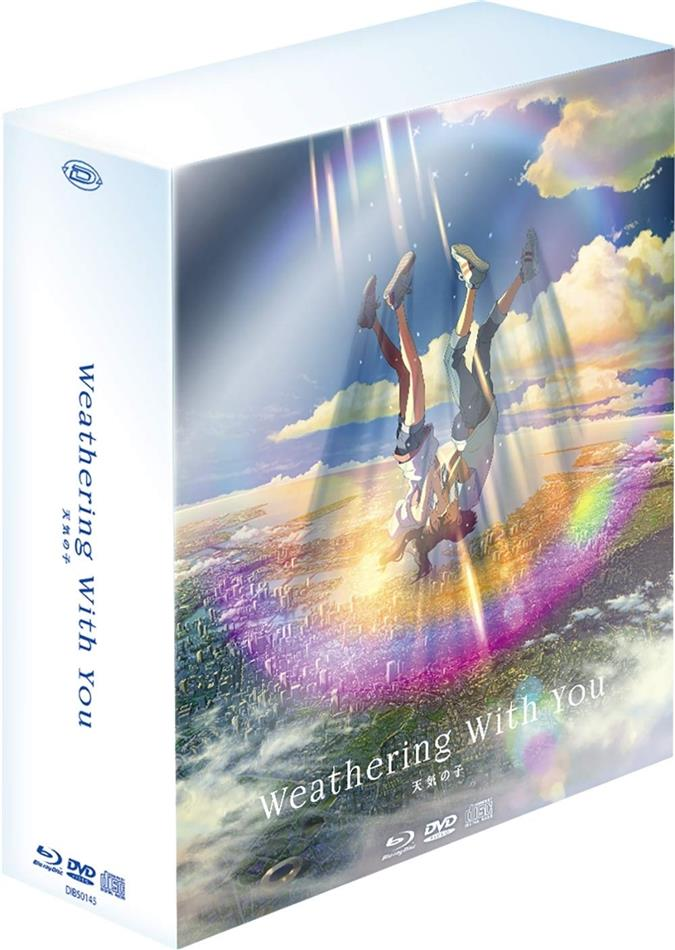 Weathering with You (2019) (Collector Limited Edition, 2 Blu-rays + DVD + CD)