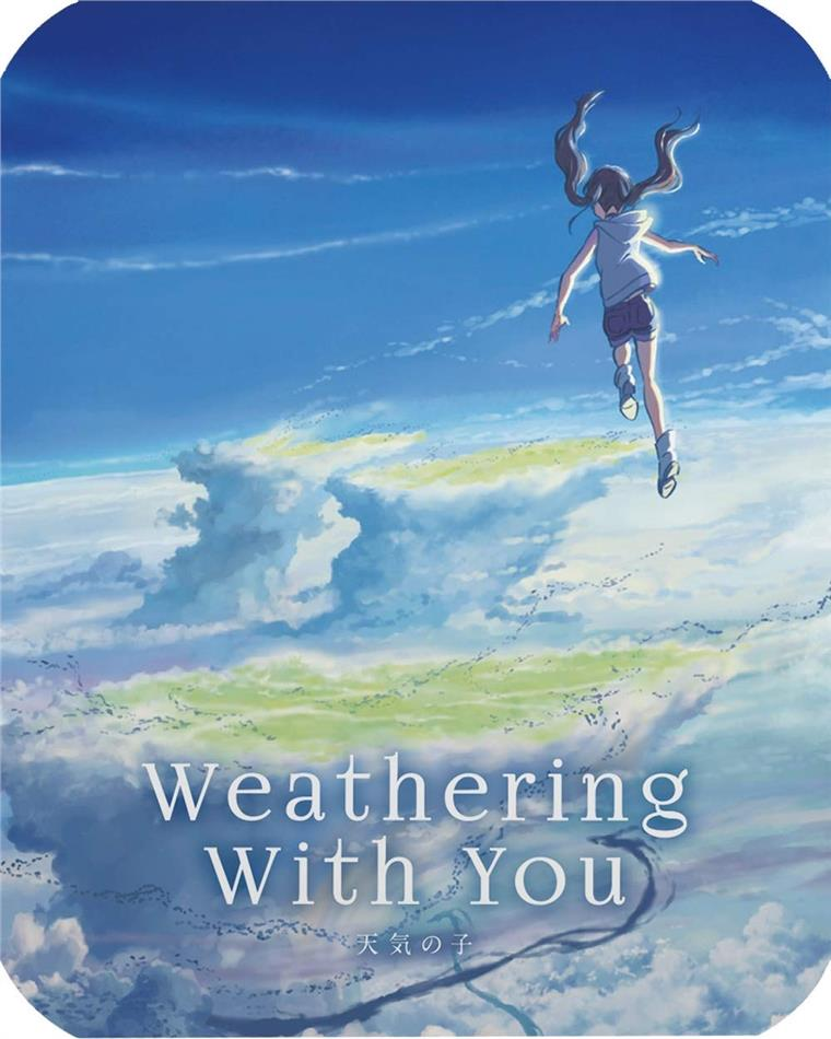 Weathering with You (2019) (Steelbook, Blu-ray + DVD)