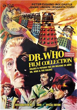 Dr. Who Film Collection - Doctor Who e i Daleks / Daleks - Il futuro tra un milione di anni (Sci-Fi d'Essai, restaurato in HD, Special Edition, 2 DVDs)