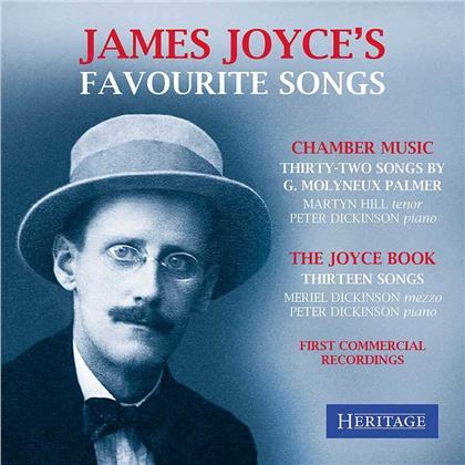 G. Molyneux Palmer, Meriel Dickinson, Martyn Hill & Peter Dickinson - James Joyce's Favourite Songs