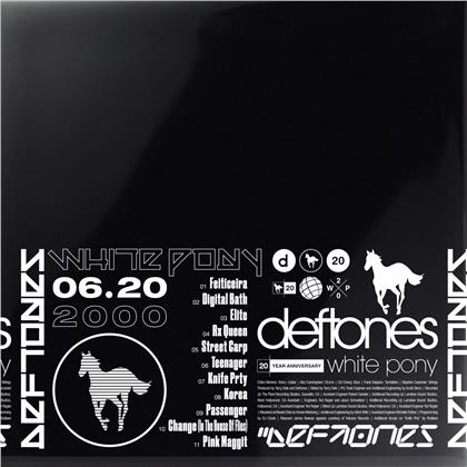 Deftones - White Pony (2021 Reissue, 20th Anniversary Edition, Deluxe Edition, 4 LPs)