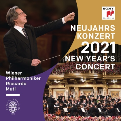 Wiener Philharmoniker & Riccardo Muti - Neujahrskonzert 2021 / New Year's Concert 2021 / C (International Version, Booklet German, English & French, 2 CDs)