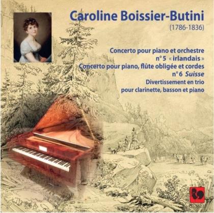 Caroline Boissier-Butini & Jonathan Nubel - Concertos Pour Piano N°5 &6