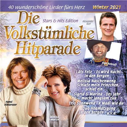 Die volkstümliche Hitparade Winter 2021 (2 CDs)
