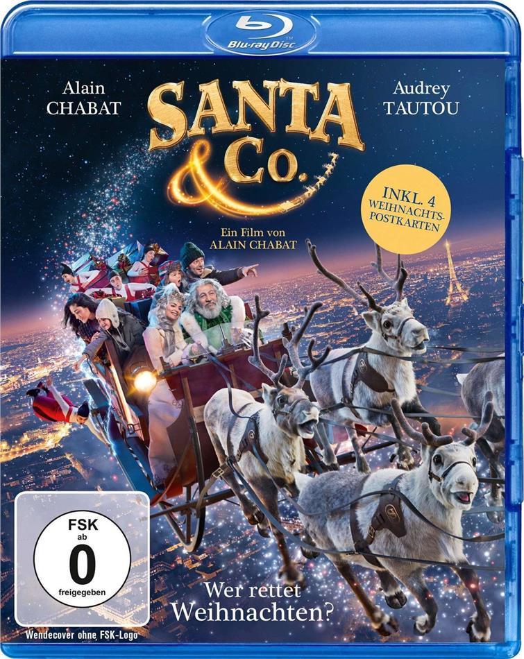 Santa & Co. - Wer rettet Weihnachten? (2017) (+ Postcards, Limited Edition)