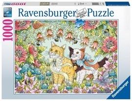 Kätzchenfreundschaft - 1000 Teile Puzzle