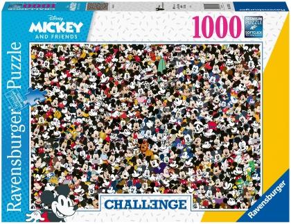 Walt Disney: Challenge Mickey - 1000 Teile Puzzle