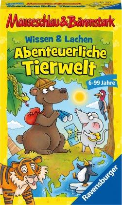 Mauseschlau & Bärenstark Wissen und Lachen - Abenteuerliche Tierwelt (Kinderspiel)